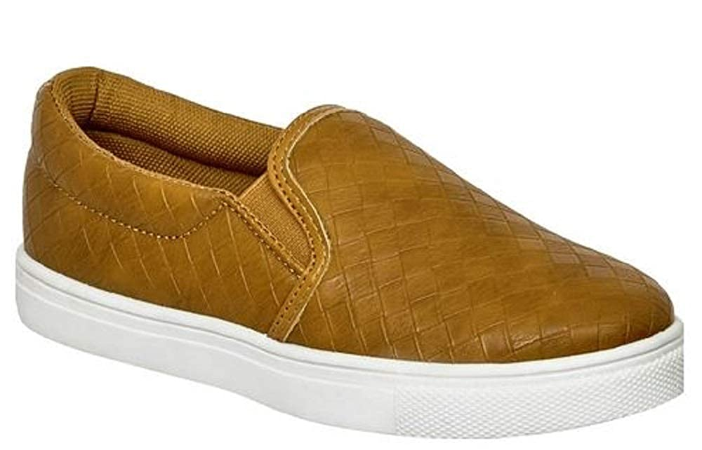 Pierre Dumas Kids Traveler-2 Slip On Shoe Whiskey 1M Brown