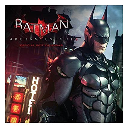 Calendario 2017 Batman - film- Gotham - DC Comics - Arkham ...
