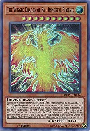 Ultra Rare Geh Le Serpent Divin DUPO-FR047 1st Yu-Gi-Oh