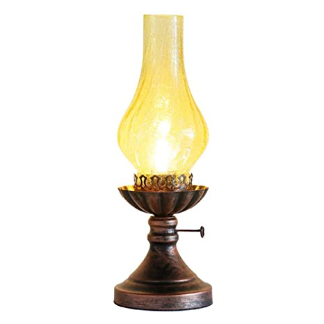ROCCY Lámpara de Queroseno Retro Lámpara Creativa Lámpara ...