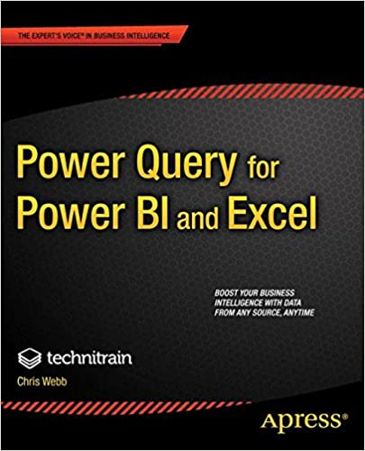 Power Query for Power BI and Excel: Christopher Webb, Crossjoin ...