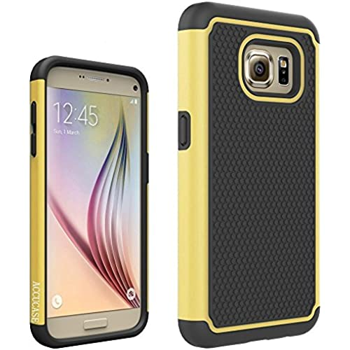 Galaxy S7 Edge Case, S7 Edge Case,AC[Football pattern series]Hybrid Dual Layer Shockproof Plastic Soft Rubber and Silicone Protective Case Cover for Sales