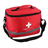 Honghong Large Capacity Ripstop Nylon Emergency First Aid Kit Bag with Cross Symbol for Outdoors Sports Travel Home