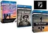 Ken Burns: The War Collection - The Civil War, The War, The Vietnam War, Plus Bonus POW*MIA Decal