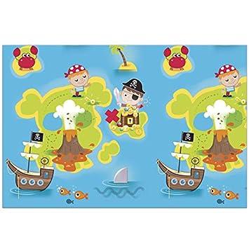 Neu: Mantel * Pequeños Piratas * para cumpleaños Infantiles ...