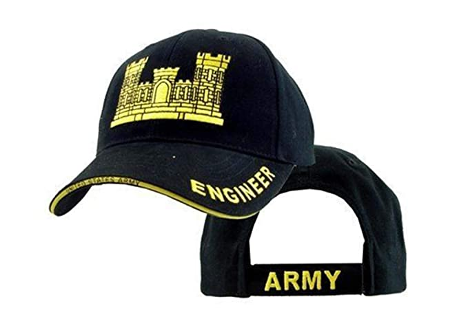 52ea0215c87 US Army Engineer Corp Embroidered Ball Cap at Amazon Men s Clothing ...