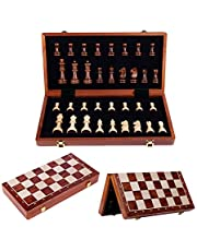 Schaakspel Magnetisch Schaakspel Schaakbordset Draagbaar Opvouwbaar Super Duurzaam Bord Voor Volwassenen En Kinderen Familiespel 39cm