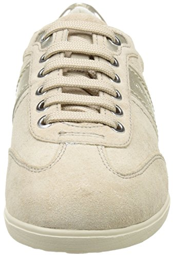 Taupe Beige A lt Basses Myria lt Sneakers Geox D Femme Goldch62l AHx8aaPq