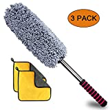 Ultimate Car Duster, Anumit Car Microfiber Duster Cleaner Exterior with Long Extendable Handle