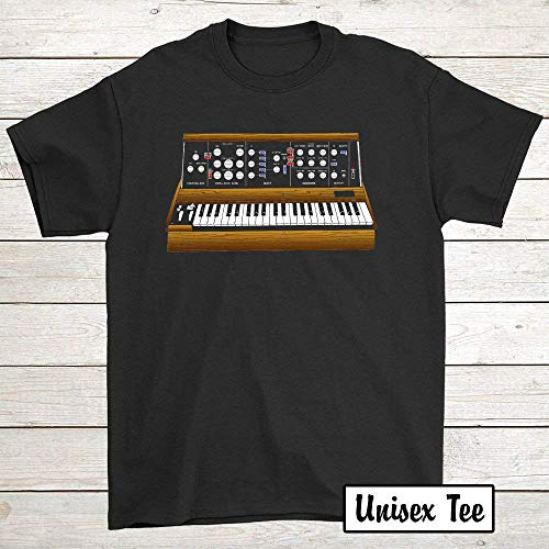 Mini Moog Synth T-Shirt 72 T-Shirt For Men ()