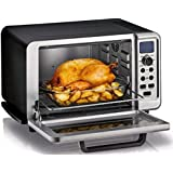 KRUPS OK505851 6-slice Convection Countertop Toaster Oven, 7 cooking functions Bake Broil Toast Pizza Bagel Keep Warm Reheat, includes Baking Pan and removable Crumb Tray, Stainless Steel