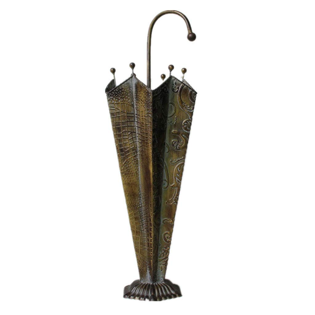 Amazon Com Cxq Retro Country Nostalgic Wrought Iron Umbrella Stand