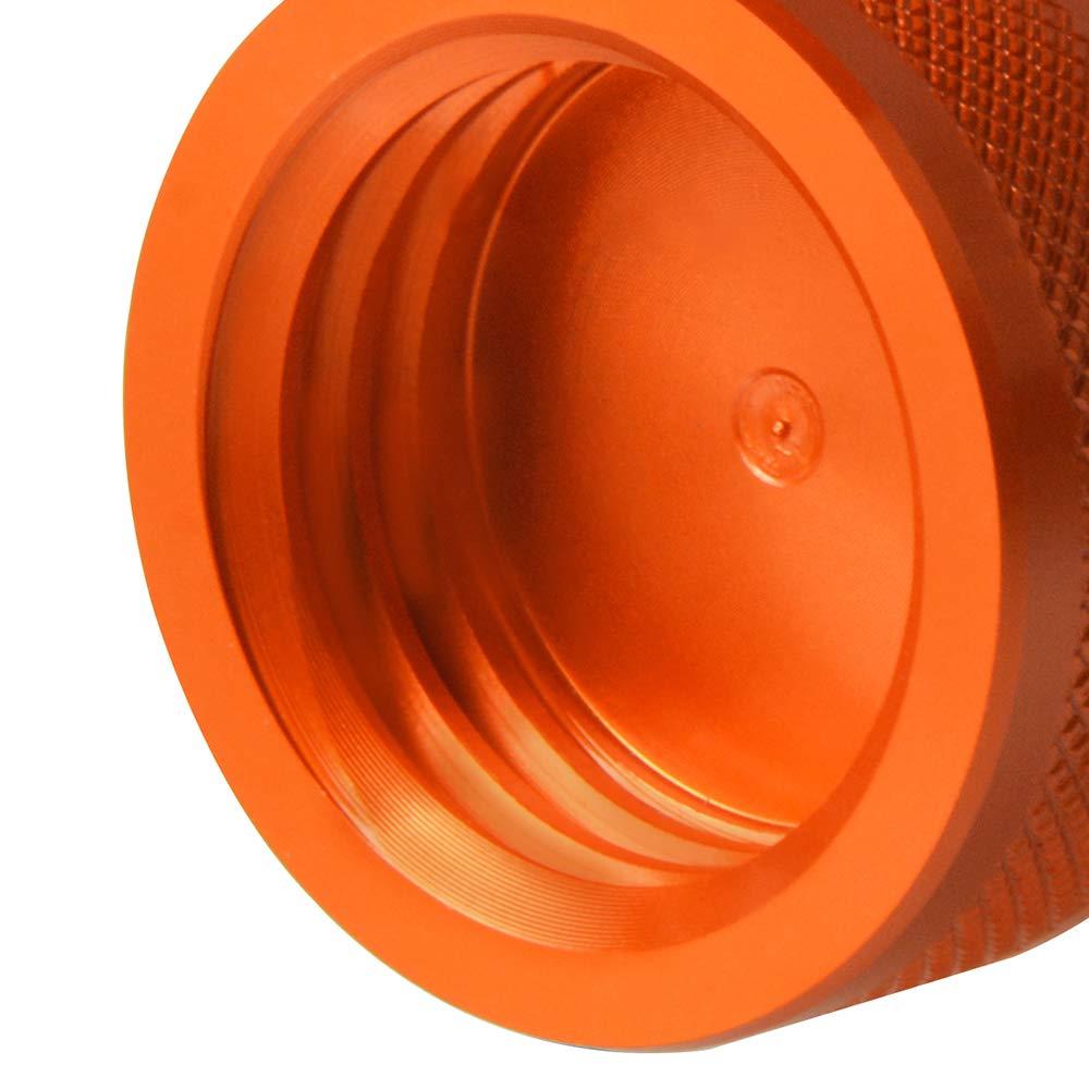 M10*1.5 Alu Schwingenschutz Schwingenadapter St/änder Bobbins Spool Racingadapter St/änderaufnahme F/ür KTM 790 Adventure//R//S 2019 Orange