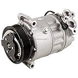 New Premium Quality AC Compressor & A/C Clutch For Jaguar XF XJ & XK - BuyAutoParts 60-03222NC New