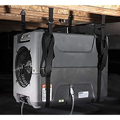 Drieaz F526 PHD 200 Compact Dehumidifier Hanging Kit, Black: Industrial & Scientific