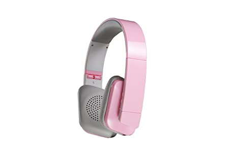 Antec AMP Pulse Bluetooth Wireless Headphone (Pink) Bluetooth Headsets at amazon