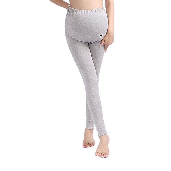 96454bffe Leggings Premama Leggings de Otoño e Invierno Pantalones Pijama ...