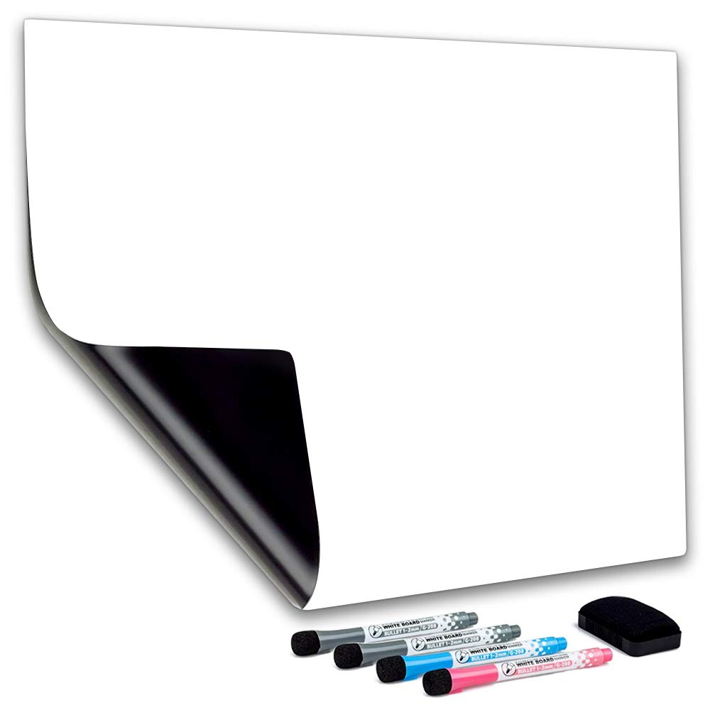 Cuhioy Whiteboard Magnetic Fridge White Board A3 For Home Kitchen Menu Meal Shopping List Reminder Notice Memo Daily Weekly Planner Kids Graffiti Dry Erase Magnet Boards 4 Marker Pens 1 Eraser Buy Online In
