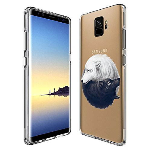 Creative Zen Clear Case (Creative Designs Yin Yang UV Printing Transparent Anti-scratch Phone Case for Samsung Galaxy S9)