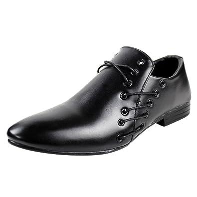 Chaussures à lacets Xiaoyouyu noires Casual homme j9VApXmJ