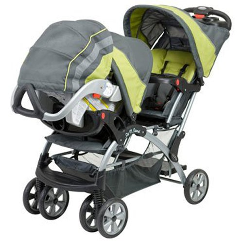 Baby Trend Sit N Stand Inline Double Baby Stroller & Twin