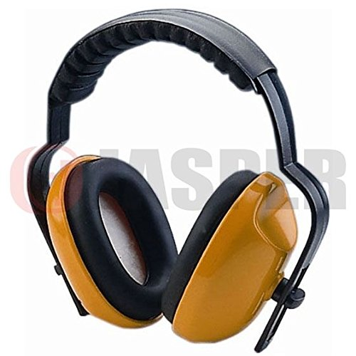Jasper Browguard Face Shield Mesh Visor with Ear Muffs - ANSI Z87.1 CE EN1731 by Jasper (Image #4)