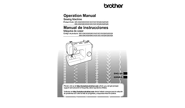 Brother LX2763 Sewing Machine Owners Instruction Manual: There and Back: Amazon.com: Books