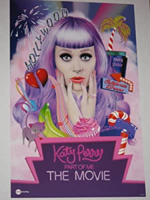 "KATY PERRY PART OF ME ""B"" 11x17 INCH PROMO MOVIE POSTER"