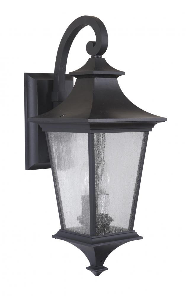 Exteriors z1364 11 argent led ii 2 light medium wall mount with exteriors z1364 11 argent led ii 2 light medium wall mount with clear seeded glass midnight amazon aloadofball Gallery