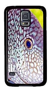 Samsung S5 case slim cases Deep-sea Fish PC Black Custom Samsung Galaxy S5 Case Cover