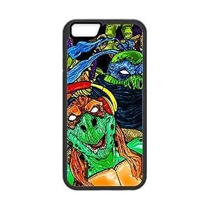Generic for iPhone 6 Plus 5.5 Inch Cell Phone Case Black Teenage Mutant Ninja Turtles Custom HFGLJSGLF6782