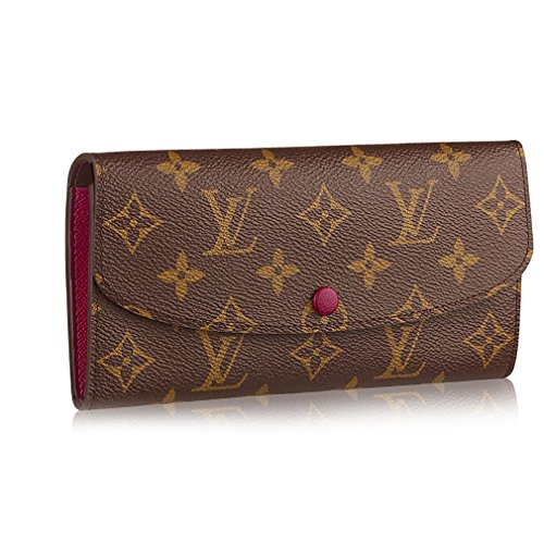 Louis Vuitton Monogram Canvas Monogram Canvas Emilie Wallet Article: M60697 Fuchsia - Louis Vuitton Billfold