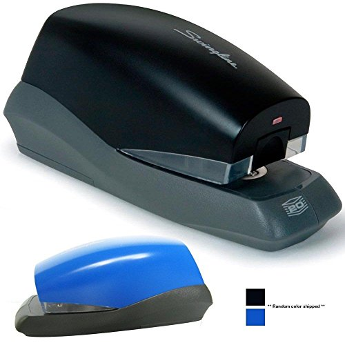 Breeze Automatic Stapler - Swingline Automatic Stapler, Breeze, 20 Sheet Capacity, Battery Powered, Color Selected For You (S7042131)