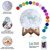 Mind-glowing 3D Moon Lamp - 16 LED