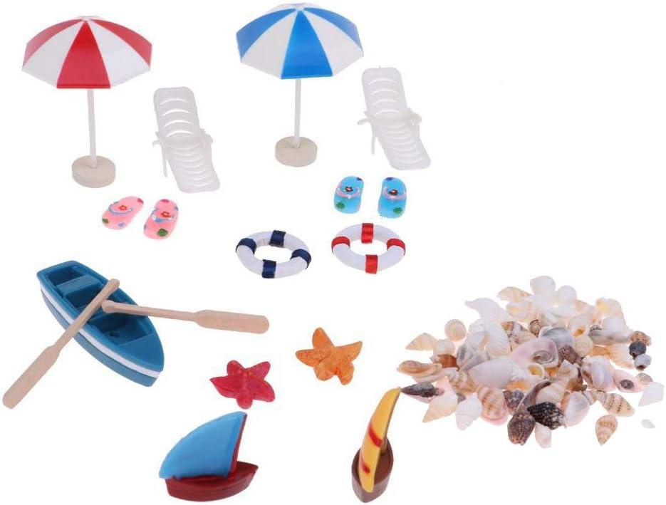 1 pack Miniature Sea Shell 1 12 Toy Dolls House Bonsai Lanscape DIY Beach Decor