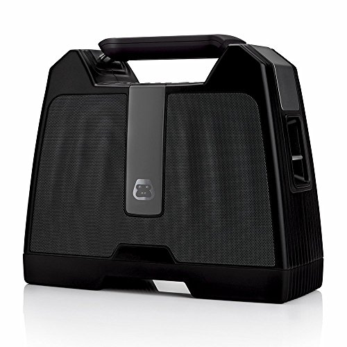 G-Project G-BOOM Wireless Bluetooth Boombox Speaker Rugged Portable Speaker with Rechargeable Battery (Black) by G-Project (Image #9)