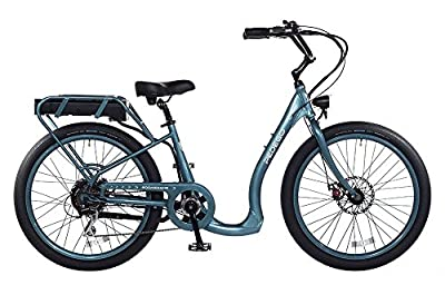 Pedego Boomerang Plus Mineral Blue with Black Ballon Package 48V 15Ah