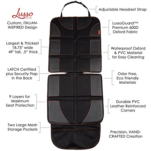 Lusso Gear Car Seat Protector Reviews