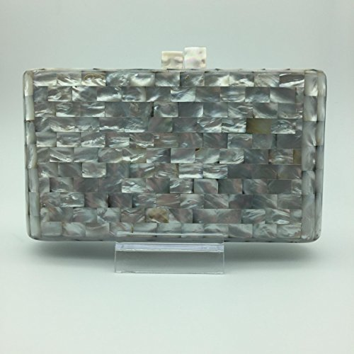 Clutch Bag Mother of Pearl by RecasArtizan