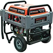 Generac 5605 XP Series XP6500E 8,125 Watt 410cc OHV Portable Gas Powered Generator With Electric Start (Discontinued...