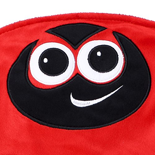 Placed on the leg 5LB Ladybird Weighted Lap Pad helps reduce Stress and Anxiety and provides Calming Deep Comfort and Cozy Feelings for Kids with Autism, ADHD, Aspergers and SPD by KINGDOM SECRET (Image #1)