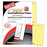 Digital Raffle/Event Tickets, Canary 1-400