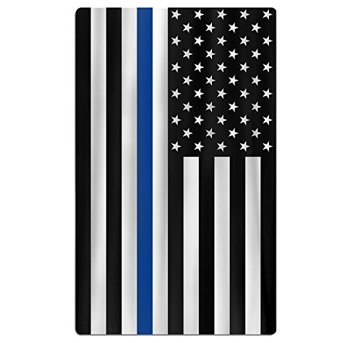 FSKDOM Oversized Beach Towel - Support Police Thin Blue Line