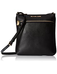 Michael Kors Women's Small Riley Pebbled Leather Crossbody Leather Cross-Body