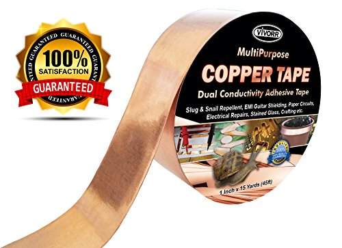 copper-foil-tape-with-dual-conductive-adhesive-1-inch-x-15-yards-45ft-slug-snail-repellent-emi-shiel