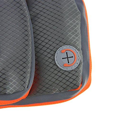 FakeFace Neu Unisex Armtasche Armband Tasche Oberarmtasche Schweißbänder Sport Tasche Geldbeutel Neopren für Sport Running Trekking HikingArmtasche Schwarz Blau Rot Grau Grau