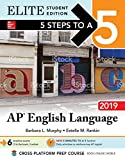 img - for 5 Steps to a 5: AP English Language 2019 Elite Student edition book / textbook / text book