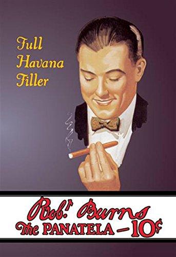 Panatela Pack - Walls 360 Peel & Stick Wall Decal: Robert Burns Panatela Cigars (16 in x 24 in)