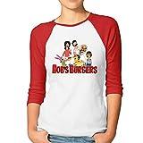 Womens Bob Baseball Athletic 3/4 Sleeve Tee Shirt