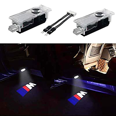 2PCS Car Door LED Light Projector Ghost Shadow Lights Welcome Light Laser Door Logo Lights Car Projection: Home Improvement